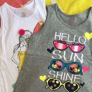 2 Girls summer tanks